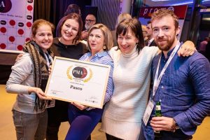 PMA awards Pasco uitreiking