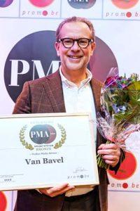 PMA awards Van Bavel
