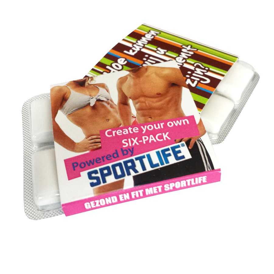Sportlife Kauwgom 6-pack