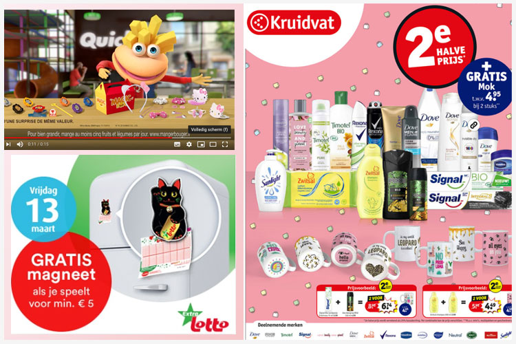 promowach quick hello kitty, nationale loterij, kruidvat 10-3-2020