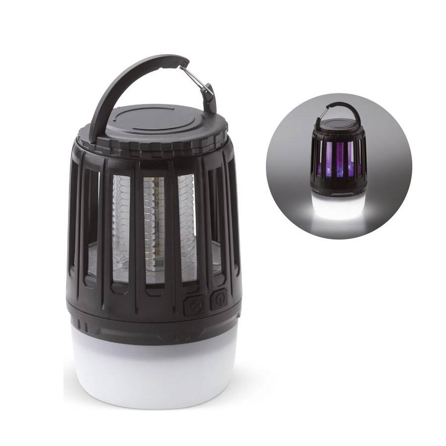 Camping lamp met anti-muggen functie