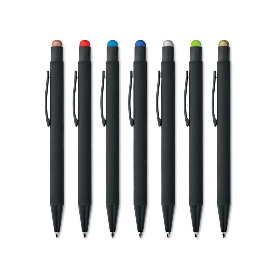 Soft Touch Pen met stylus voor touch
