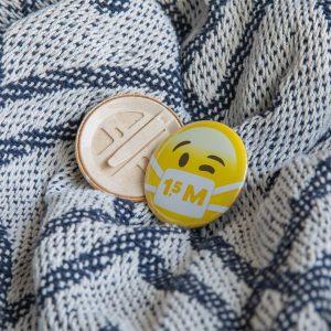 bio corona button