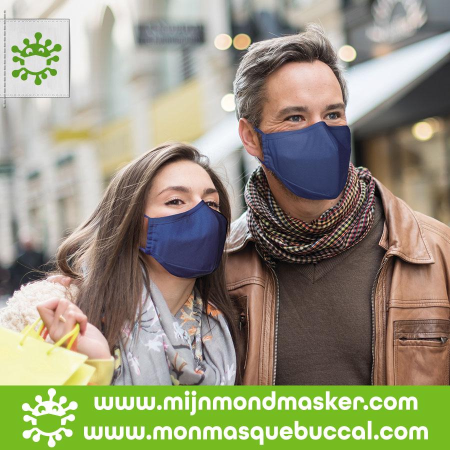 4-laags herbruikbaar mondmasker