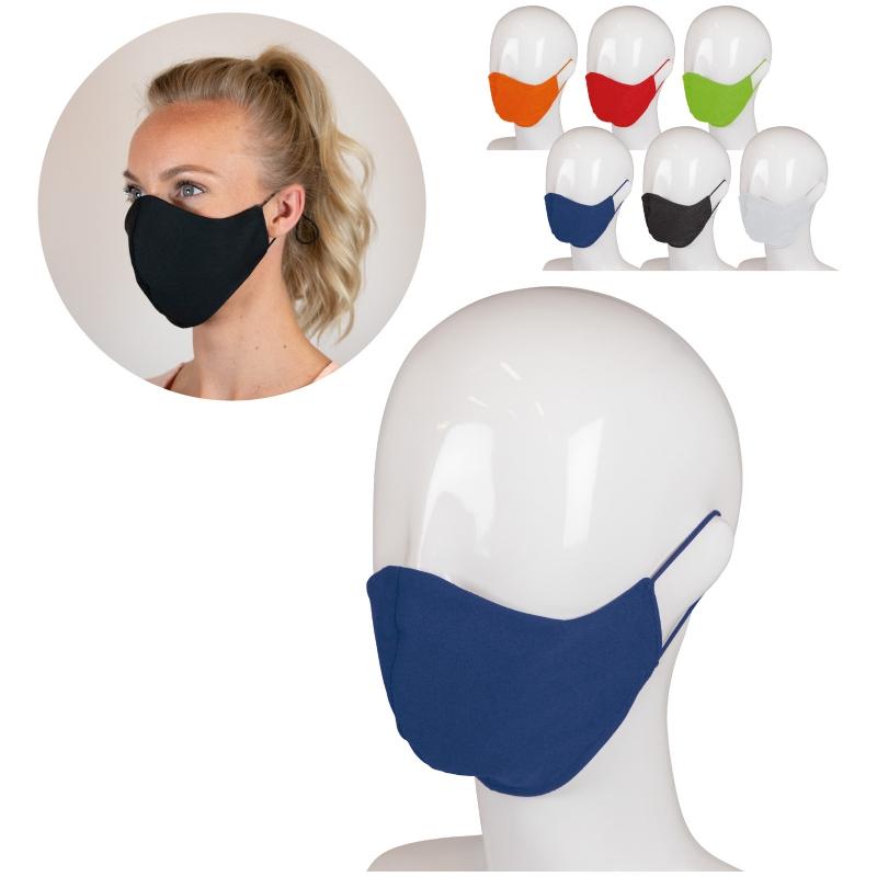 Herbruikbaar gezichtsmasker katoen 3-laags
