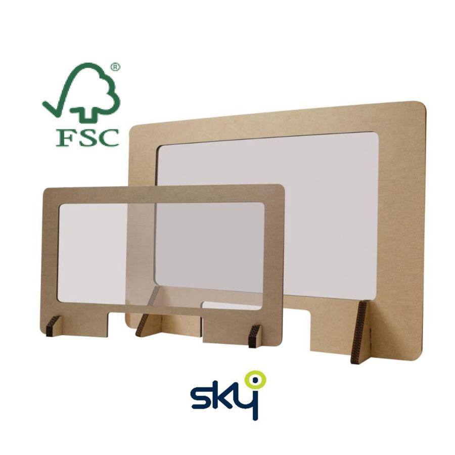 Hygiëne scherm recycleerbaar
