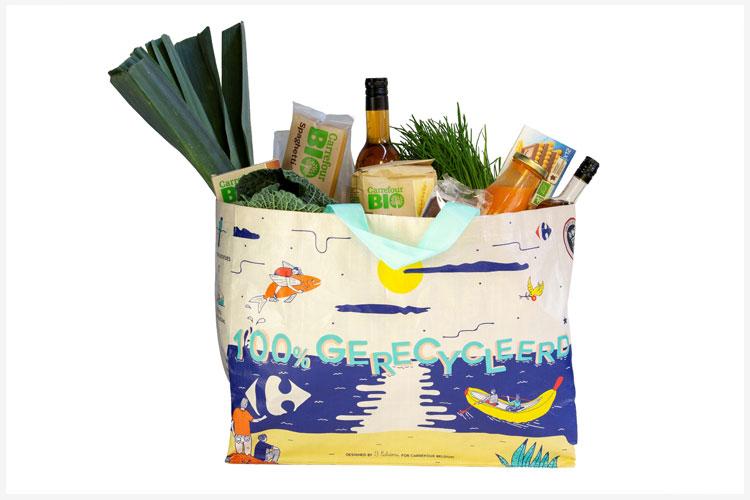 Carrefour komt met duurzame tassen