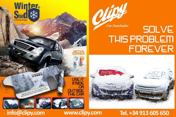 WinterShield beschermt jouw auto voorruit het hele jaar!
