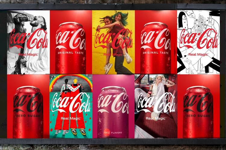 Coca-Cola lanceert 'Real Magic'